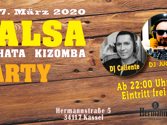 Salsa Mix Party März 2020
