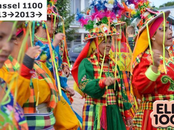 Buntes Bolivien grüßt Kassel (Stadtjubiläum Kassel 1100)